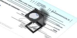 vérifier chèque